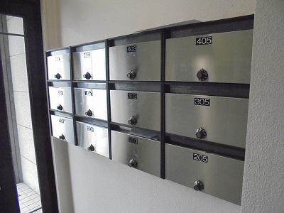 メールボックス(玄関)