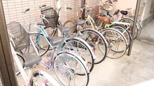 放置されている自転車について