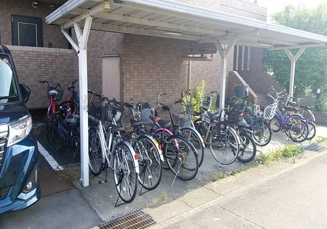 賃貸マンションの放置自転車について